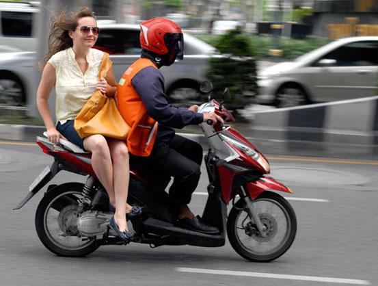 Taxi Moto Roissy Orly